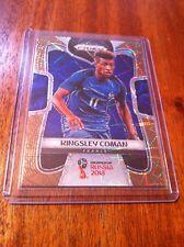 Panini Prizm 2018 World Cup 79 Kingsley Coman France Gold Lazer 08/15
