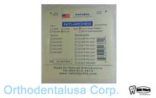 "20 pcs Dental NiTi Archwire Super-elastic 0.016"" x 0.022"", Oval, 10Upp/10Low"