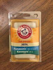 Arm & Hammer HEPA Vacuum Filter Panasonic MC-V194H Kenmore EF-2 #63619A