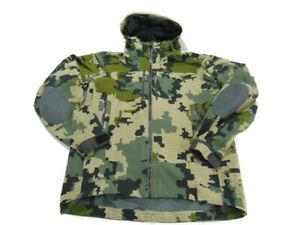 Kuiu Jacket Multicolor Camo Full Zip Yukon Rain Hood Lightweight Mens Size M