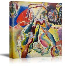 "Bild mit rotem Fleck by Wassily Kandinsky - Canvas Print Wall Art - 24"" x 24"""