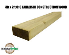 3x2 CLS Tanalised Timber C16 Structural Graded Studwork Timber Various Sizes
