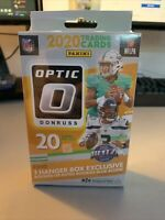 2020 DONRUSS OPTIC NFL FOOTBALL HANGER BOX BURROW TUA HERBERT RC BLUE SCOPE 🔥