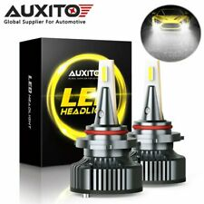 2XAUXITO CANBUS 9005 HB3 LED Headlight Bulb High Beam 6500K 16000LM Super Bright
