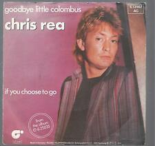 Chris Rea 1982 :  Goodbye little colombus, If you choose to go
