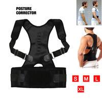Correcteur de posture magnétique ceinture soutien maintien dos femme homme