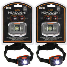 2 X 100 Lumen NGT White and Red Light CREE Head Lamp Torch Fishing Hunting