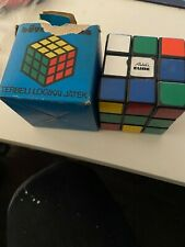 VINTAGE POLI TOYS RUBIK'S CUBE TOY OF THE YEAR 1980 + BOX - RARE