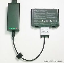 Externo Portátil Cargador de batería para Asus F82 K50 K70 X5d X8D, A32-f52, A32-f82