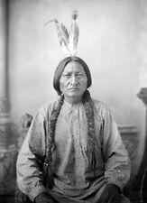 CHIEF SITTING BULL Native American Indian *  LARGE A3 QUALITY CANVAS ART PRINT