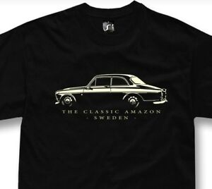 T-shirt for classic volvo amazon fans 122s 123gt 122 121 222 tshirt