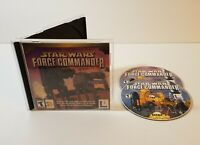 Star Wars Force Commander PC CD-Rom 2000 windows real-time strategy game