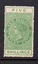 NEW ZEALAND SC AR36 Mint OG H CV $225