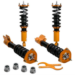New Coilovers for Subaru Outback 2000 01 02 03 2004 Struts Shocks Adj. Damper