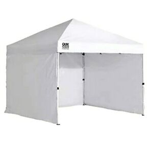 Quik Shade 10' x 10' Instant Canopy Wall Panel Accessory Set for Canopies with