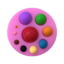 Half Round Ball Shaped Silicone Mold Cake Cookie Chocolate Pudding Biscuit Mould