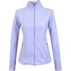 Adidas Ladies Running Jacket Warm Sports Golf Tracksuit Top Outdoor