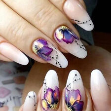 Nail Art Sticker Flowers Butterfly Design Water Transfer Nail Art Decals Decor