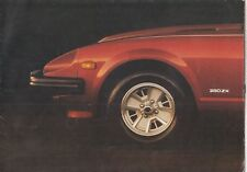DATSUN 280 ZX 2+2 COUPE ORIGINAL 1981 FACTORY UK SALES BROCHURE