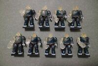 Mega Bloks Construx Halo Alpha Series Brute 9 action figures lot *New Unused*