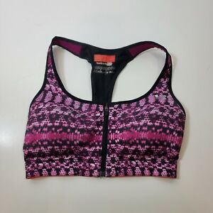 Under Armour Made For Me Sports bra Heat Gear 32D zip front