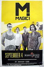 Magic 2015 San Diego Concert Tour Poster - Reggae Fusion/Rock, Pop Music
