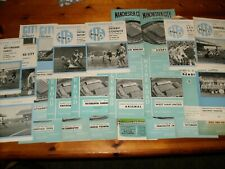 BULK LOT OF MANCHESTER CITY  FROM THE 1950'S TO 1960'S all listed-----READ ON