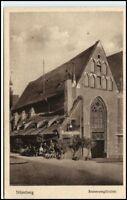 NÜRNBERG AK ~1910/20 Leute Gasthof Bratwurstglöcklein