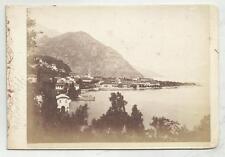 FOTO D' EPOCA antica di menaggio lago di como originale