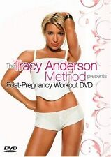 The Tracy Anderson Method: Post-Pregnancy Workout NEW DVD * fit body after baby