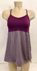 "Champion Purple Athletic Shirt Tank Top L Large 16"" Gym Yoga Running Lifting"