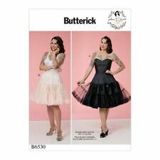 Butterick Sewing Pattern 6530 (6-14) (14-22) Misses Retro Petticoat Slip Gertie