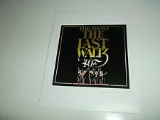THE BAND THE LAST WALTZ STICKER
