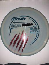 Esp Buzzz Paul McBeth 5X World Champion Discraft claws swirly buzz 179g Inked
