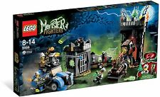 LEGO CRAZY SCIENTIST & HIS MONSTER 9463 Set New & Sealed Box Fighters Halloween