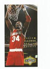 1994-95 NBA JAM SESSION HAKEEM OLAJUWON #73 HOUSTON ROCKETS NM-MINT!!!