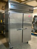 Victory Commercial 2 Door Stainless Steel Reach In Refrigerator Cooler - REPAIR