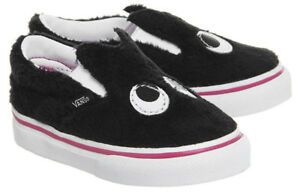 Vans Off The Wall Infant Toddler Party Fur Friend Slip-On Shoes