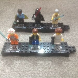 Lego Star Wars 20th Anniversary Minifigures Complete Set Of 6