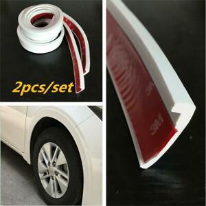 Car Wheel Trim 2x 1.5m Universal Rubber Fender Moulding Flares Protection Strips