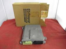 Logic Module T B I Manual Transmission 2.2L Fits 87 Models NOS MOPAR 5227886
