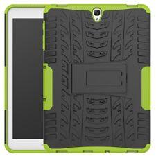 Tablet-Guscio Case TPU #h75 TYRE 3d verde a Samsung Galaxy Tab s3 9.7 - COVER