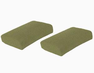 "Sunbrella Spectrum Kiwi Solid Cushion For Universal 18""x 24""x 5"", 2 Pack"