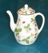 WEDGWOOD Wild Strawberry Miniature Coffee Pot