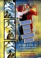 I Will Walk Like a Crazy Horse (DVD, 2007) French Language w English Subtitles