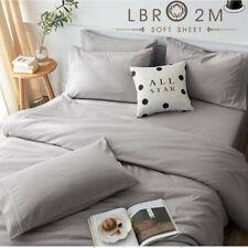 6pcs/Set Deep Pocket Bed Sheet Set 1800 Count Hotel Quality Bed Sheets Wf