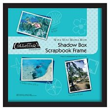MCS Scrapbook Shadow Box Frame - Black (Same Shipping Any Qty)