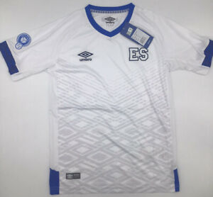 El Salvador Away Jersey White Umbro Junior Boys 2019/2020 Sz 10-16 New with Tags