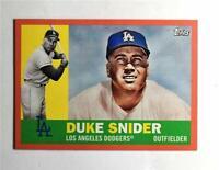 2017 Topps Archives Peach #43 Duke Snider /199