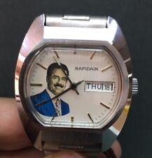 Special RAFIDAIN  President Saddam Hussein Iraq  Automatic Watch Men Watch Rare